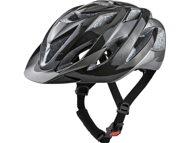 Alpina Lavarda Cykelhjelm, darksilver